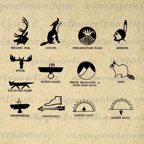 native american art symbols.