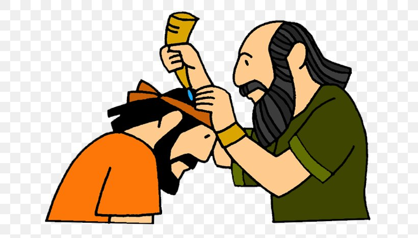 Kingdom Of Israel Bible Story Clip Art Anointing, PNG.