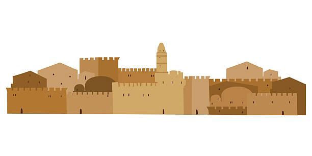 Old Jerusalem Clipart.