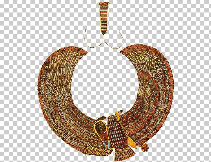Art Of Ancient Egypt Old Kingdom Of Egypt Necklace PNG.
