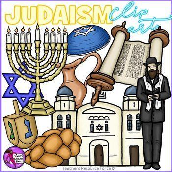 Jewish / Judaism / Hanukkah Clip Art.