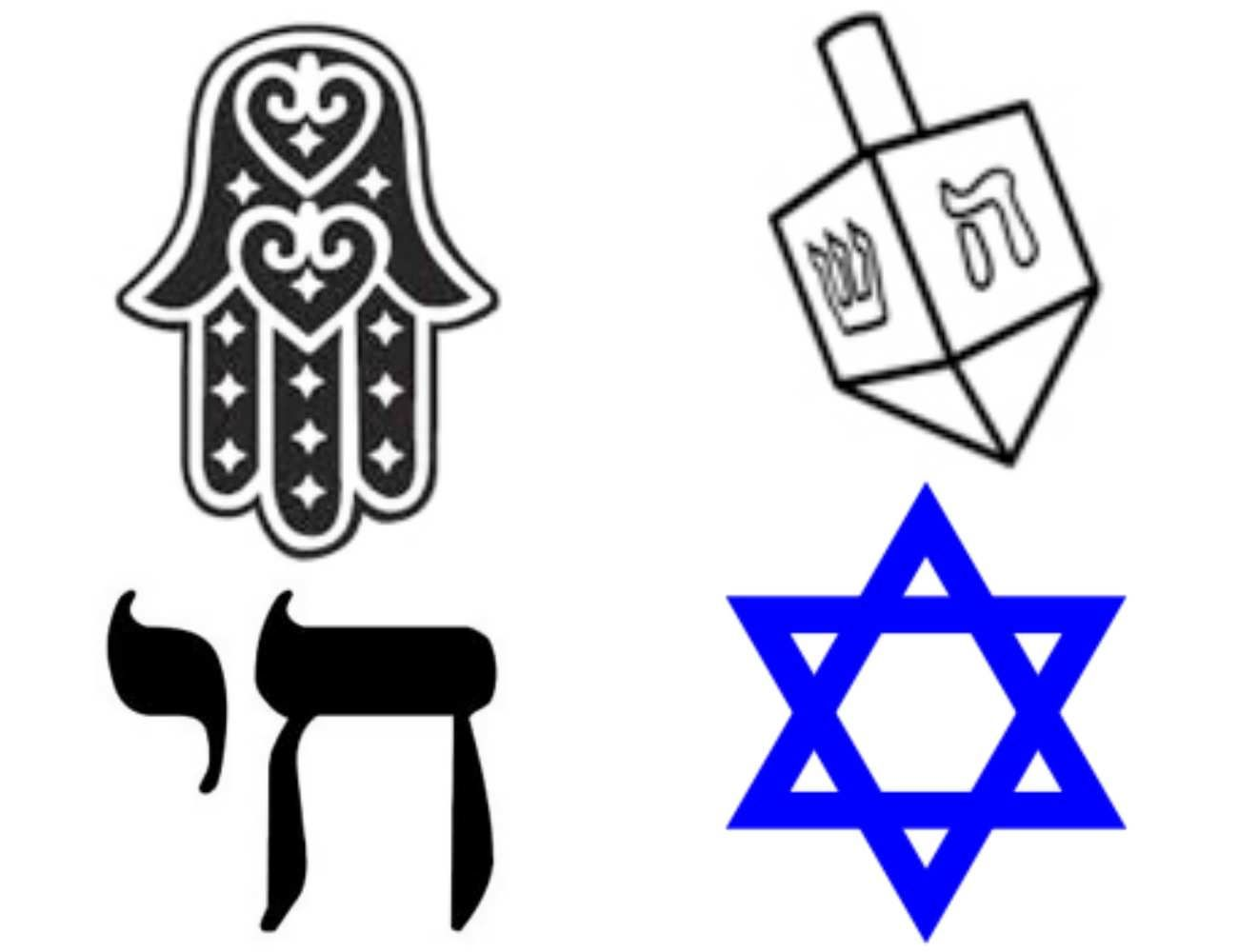 Jewish Symbols and their meanings.