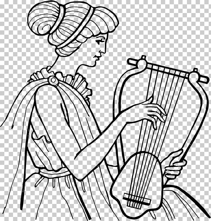 Ancient Greece Ancient music Lyre Greek musical instruments.