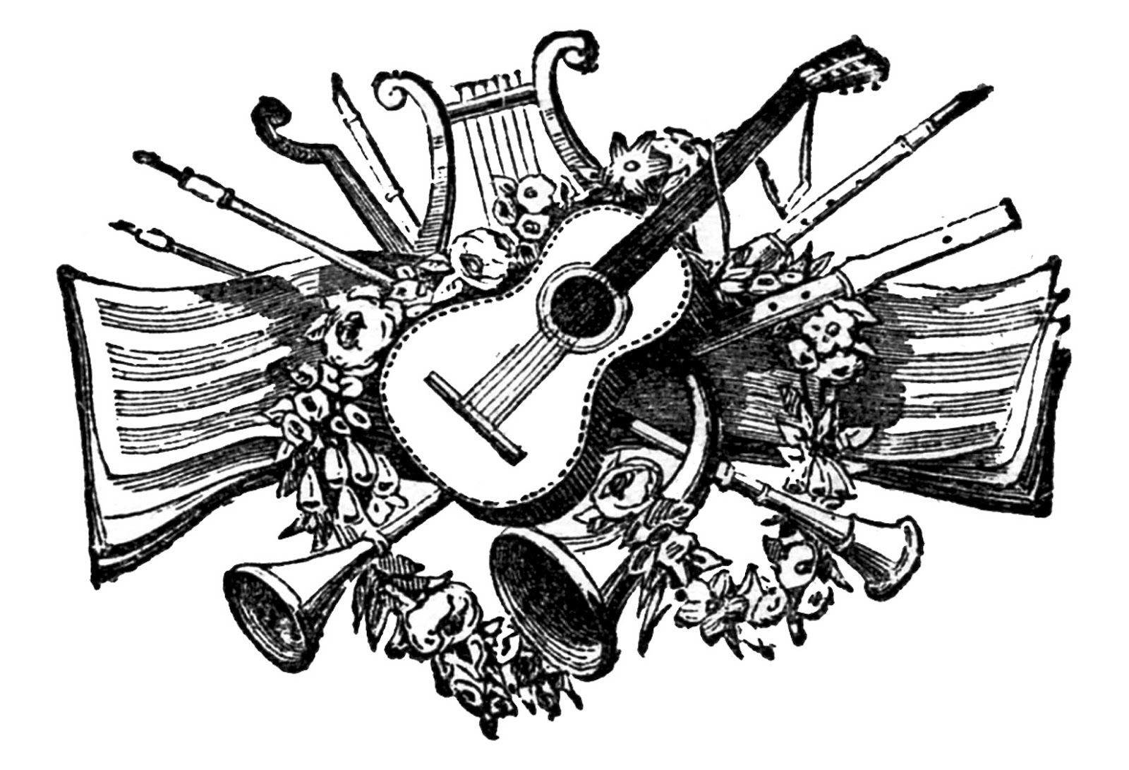 Free Musical Instrument Pictures, Download Free Clip Art.