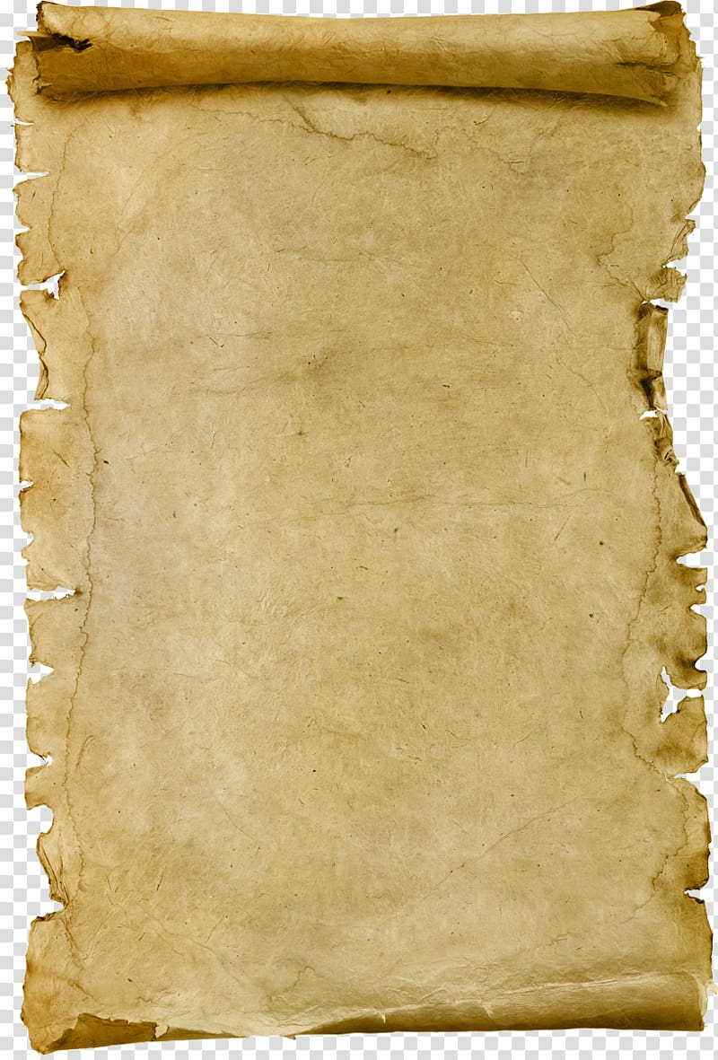 Brown scroll, Paper Scroll Papyrus Parchment, old background.