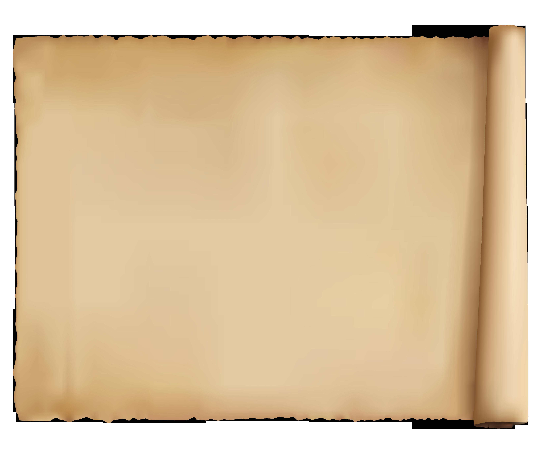Papyrus Ancient Paper PNG Clipart Picture.