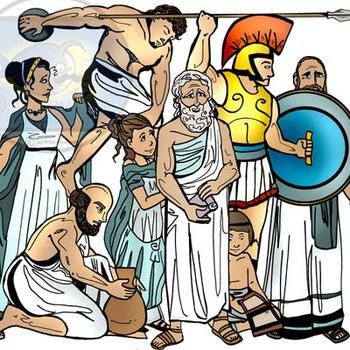 Ancient greek people clipart 5 » Clipart Portal.