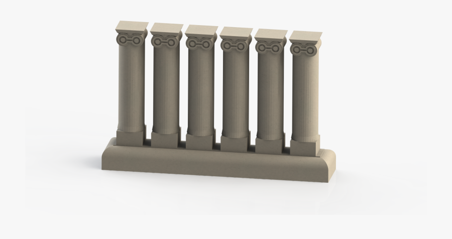 Transparent Roman Pillars Png.