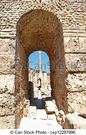 Stock Photographs of Carthage.