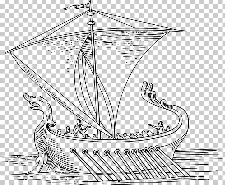 Coloring Book Ancient Rome Drawing Boat PNG, Clipart, Aeneid.