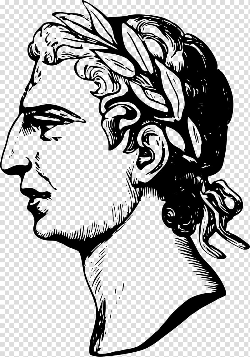 Julius Caesar transparent background PNG cliparts free.
