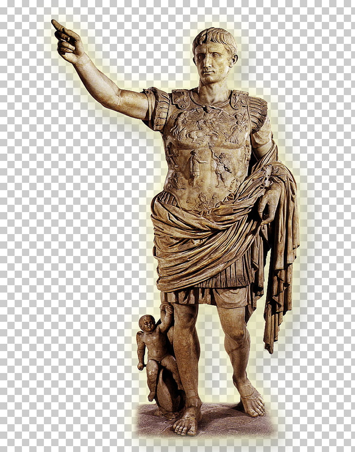 Augustus of Prima Porta Ancient Rome Roman Empire Roman.