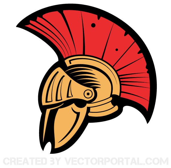Ancient Helmet Clip Art.