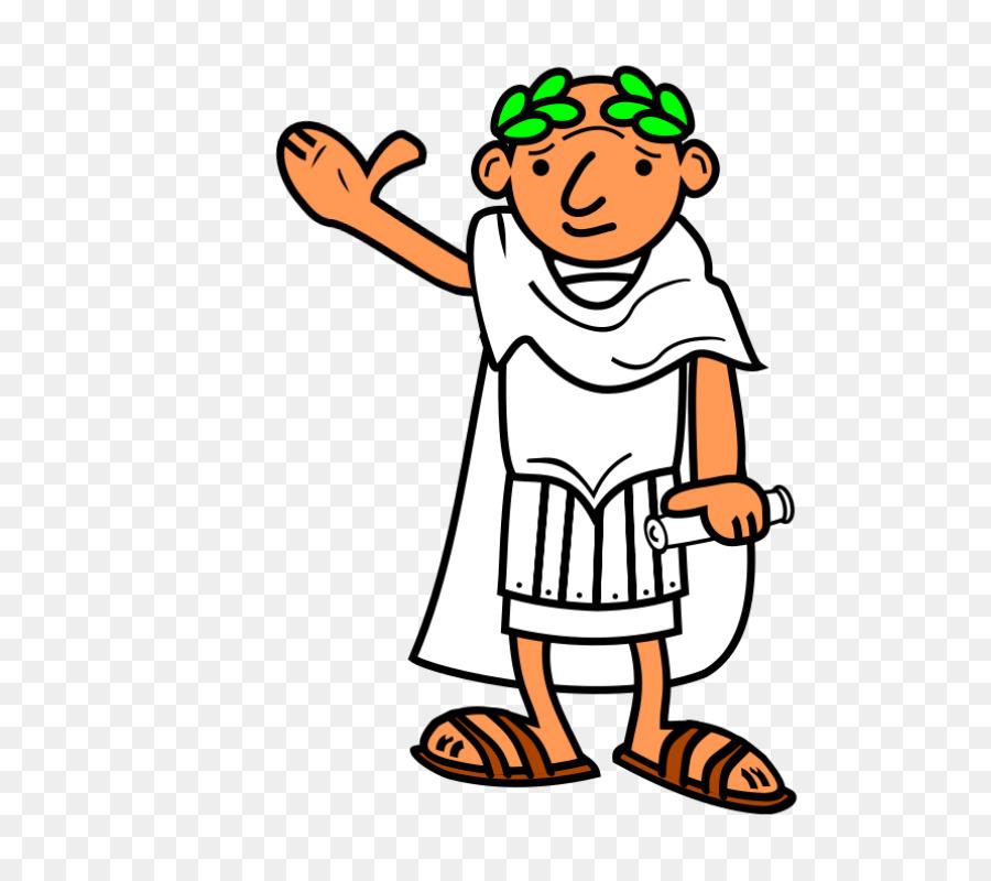 Roman Man Clipart.