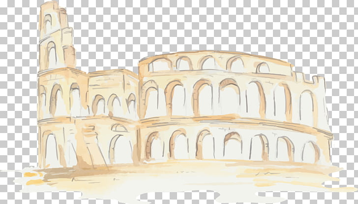 Colosseum Ancient Rome Ancient Roman architecture.