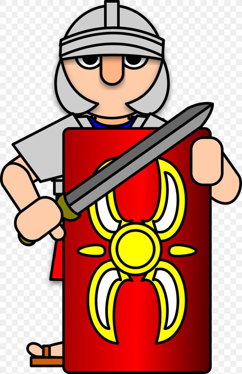 Ancient Rome Soldier Roman Army Clip Art, PNG, 830x1280px.