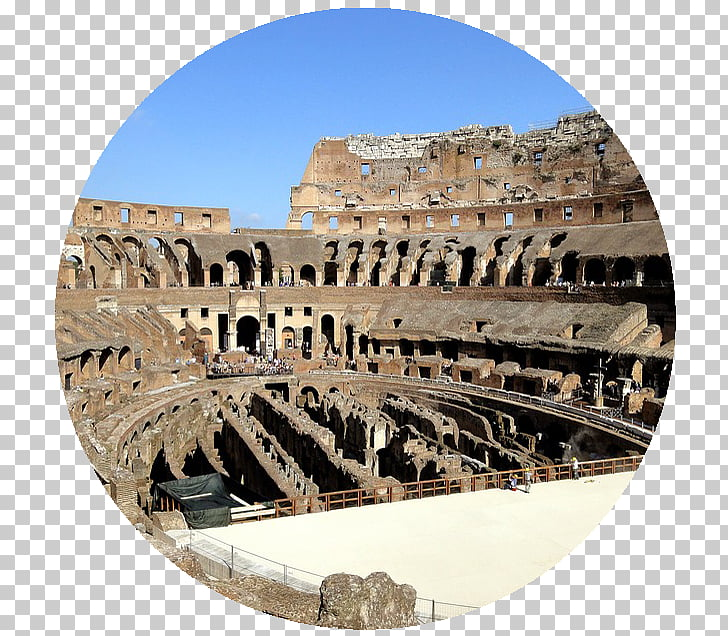 Colosseum Ancient Rome Vatican City Gladiator Ruins.