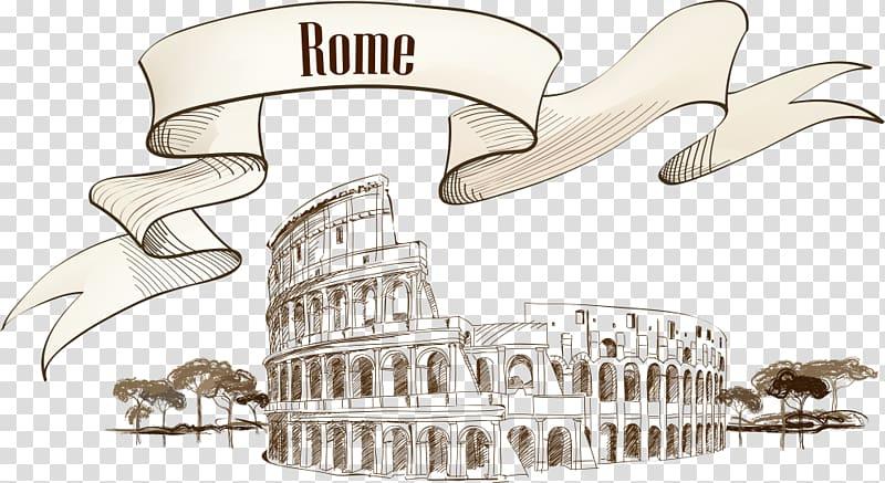 The Colosseum , Colosseum Ancient Rome Roman amphitheatre.
