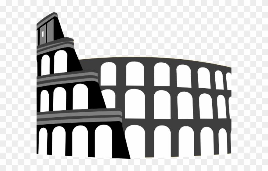 Colosseum Clipart Ancient Rome.