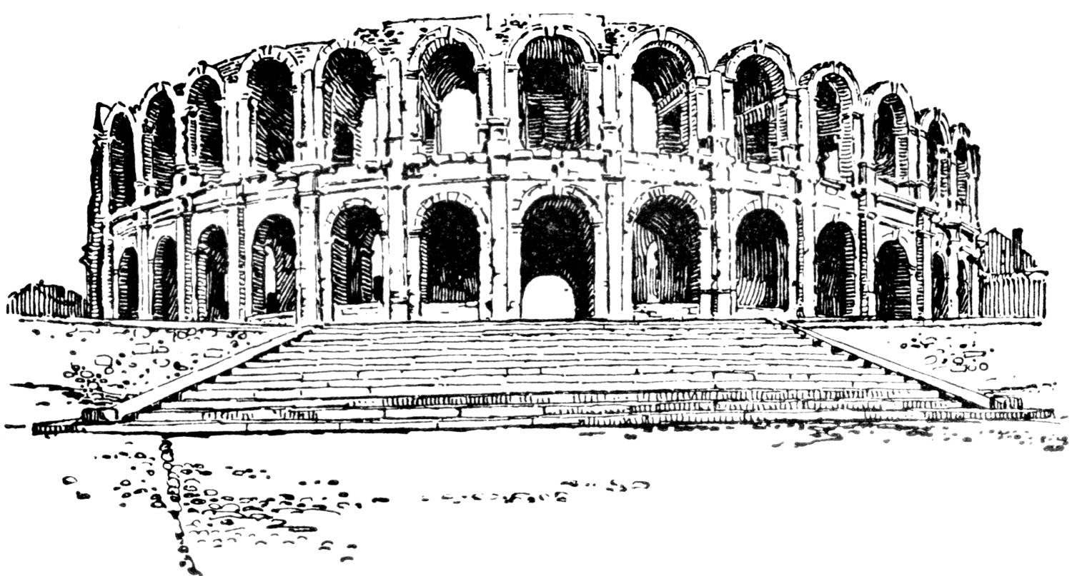 Ancient ruins clipart.