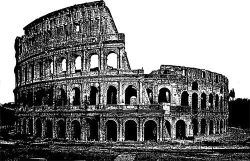 Ancient ruins.