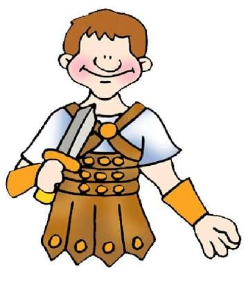 Image result for roman soldier clipart.