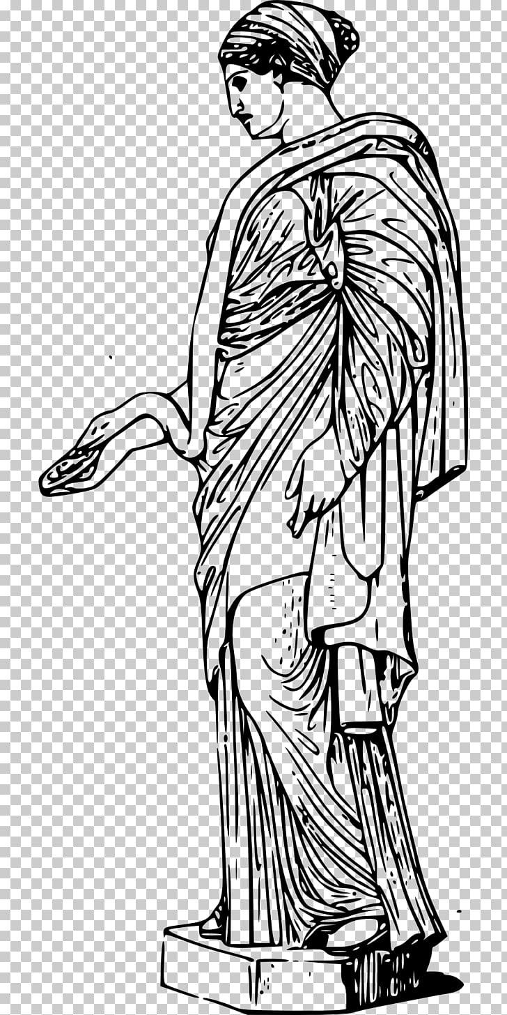 Ancient Greek sculpture Statue , toga PNG clipart.