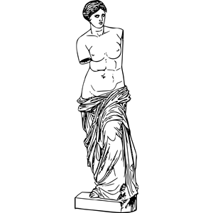 Aphrodite clipart, cliparts of Aphrodite free download (wmf.