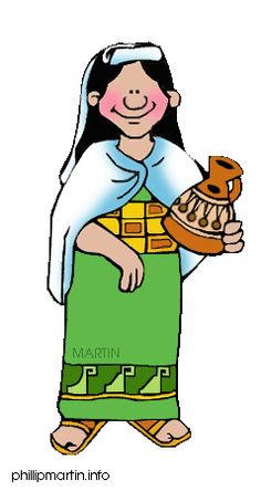 Ancient Sumerian People Clipart.