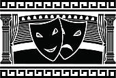 Clipart of ancient greek theatre k12164852.