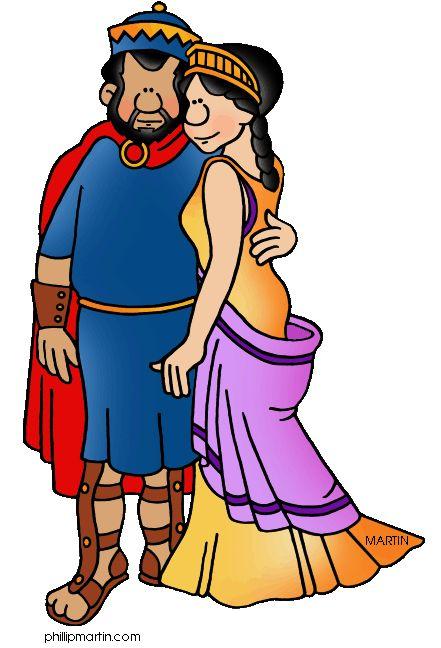 Ancient Greek Theatre Cartoon.