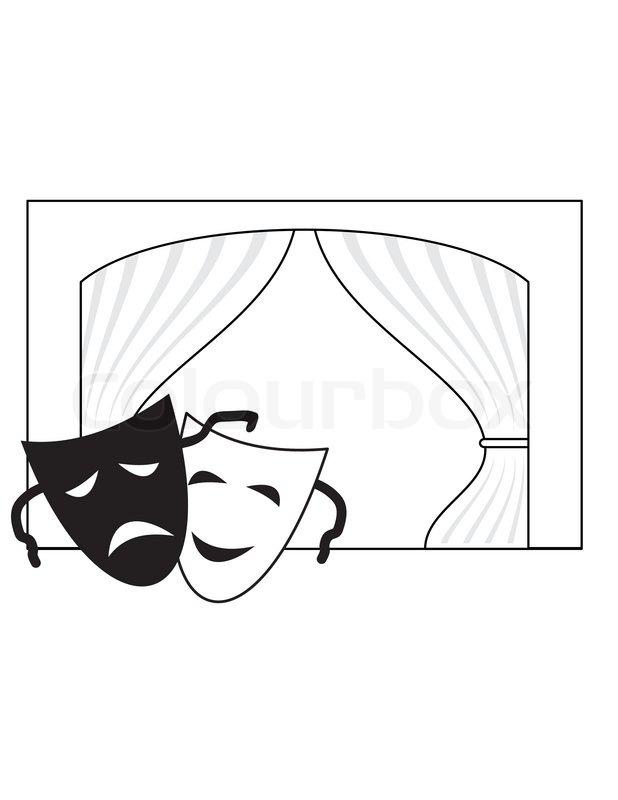 Drama Symbols Clipart.