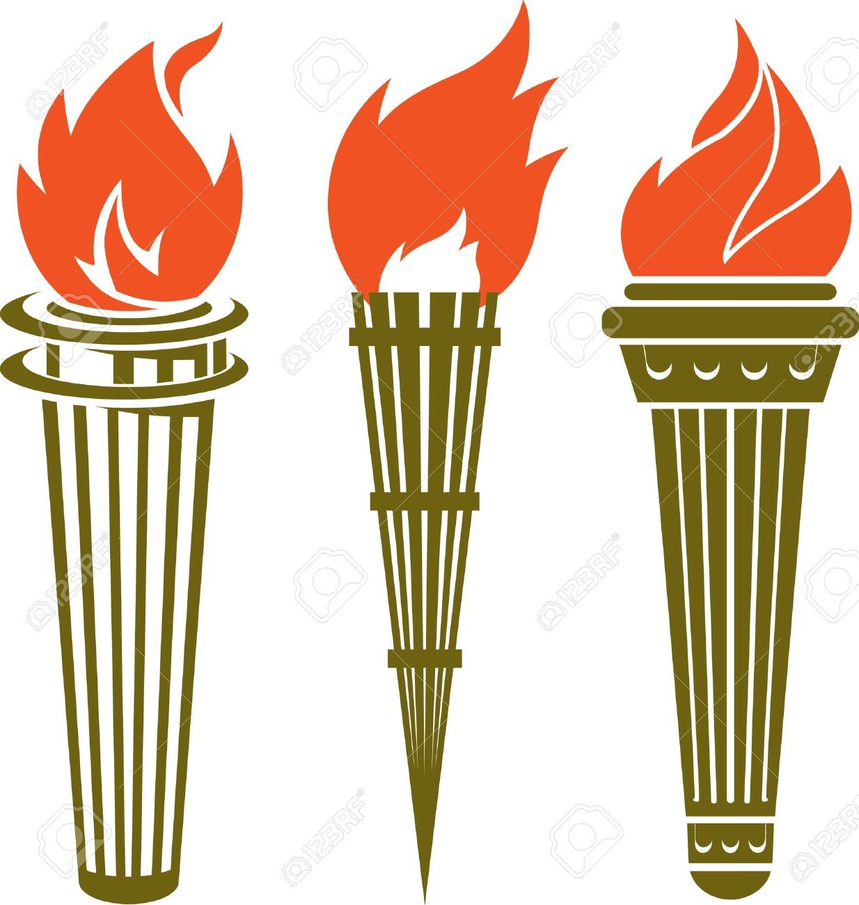 Torch Stock Vector Illustration And Royalty Free Torch.
