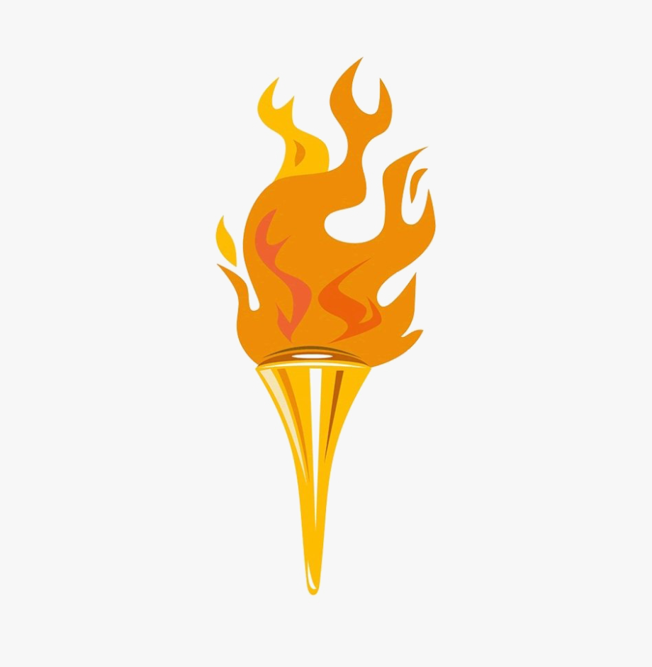 Olympic Torch Png Image.