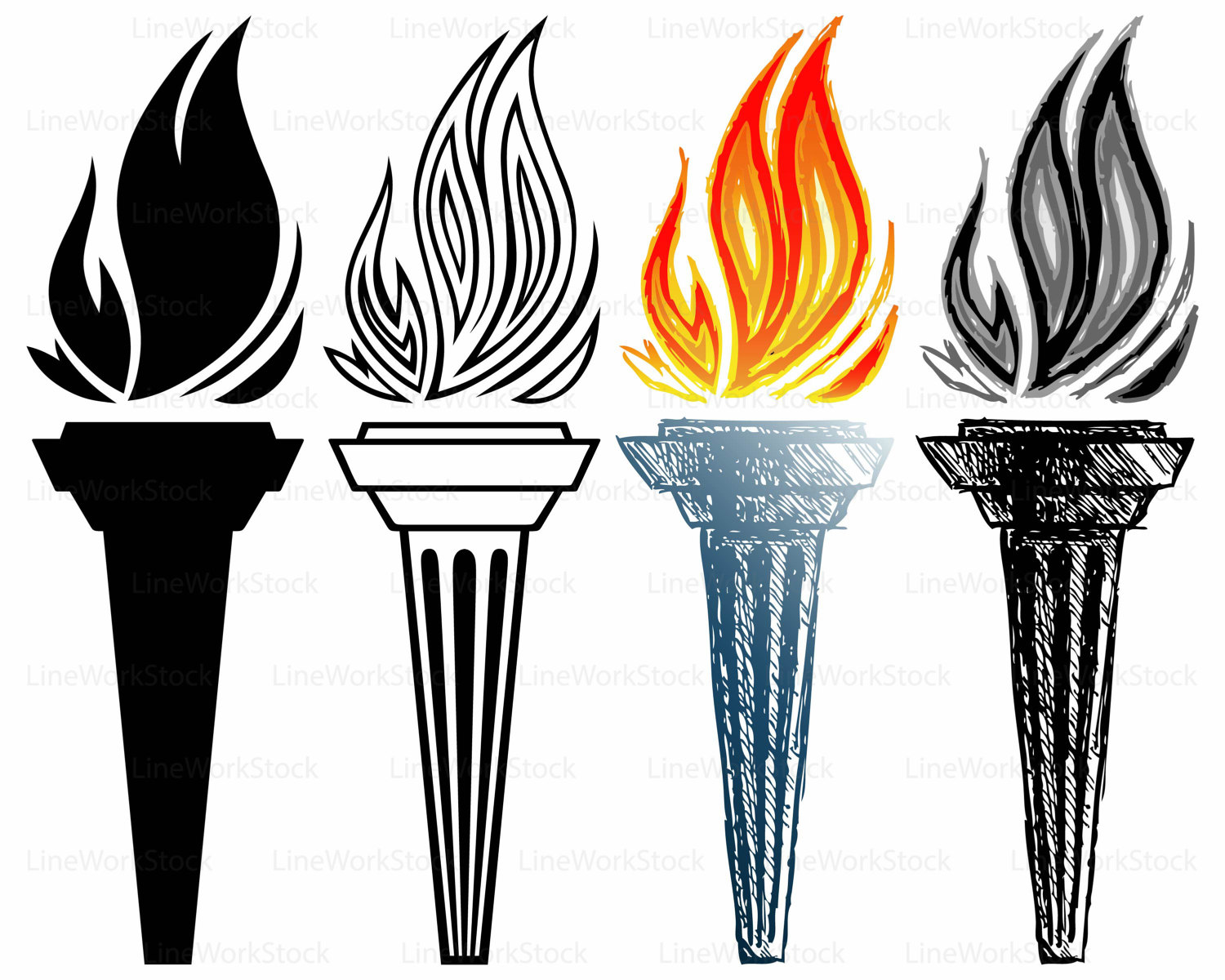 Torch clipart ancient, Torch ancient Transparent FREE for.