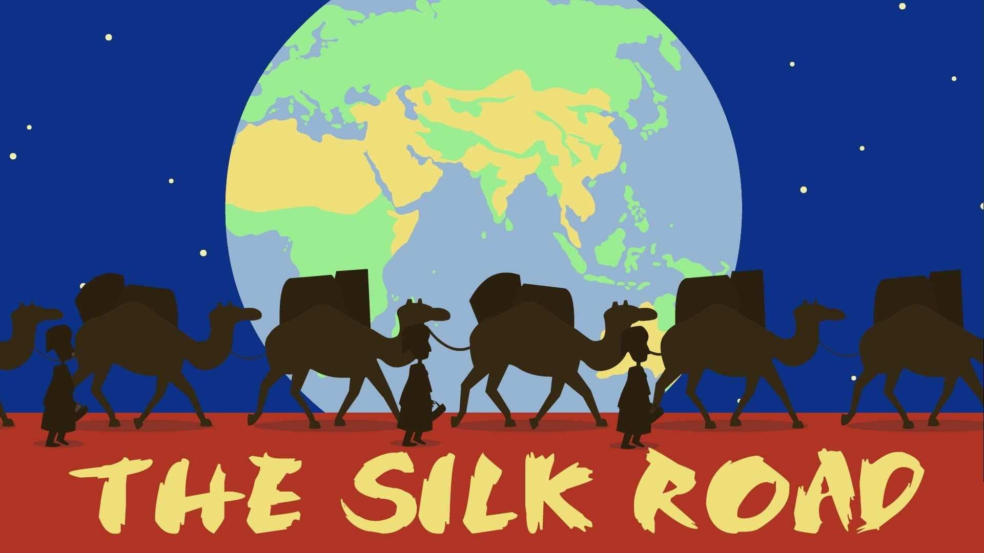 The Silk Road: Connecting the ancient world through trade.