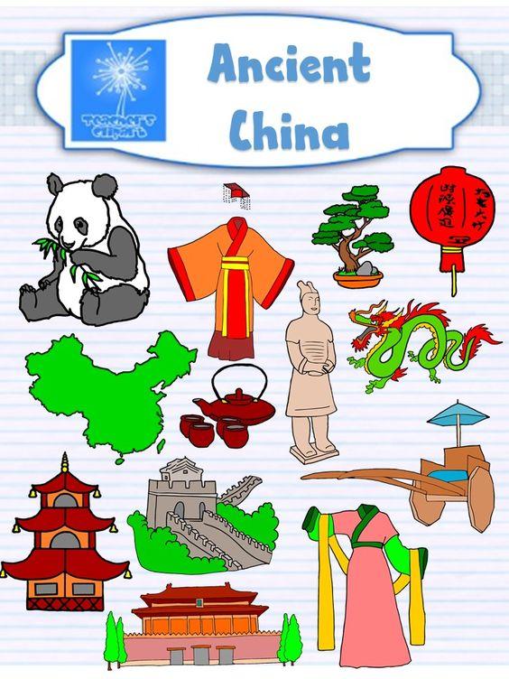 Ancient China Clip Art {Social Studies clipart}.