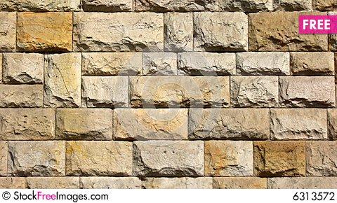 Ancient Castle Wall (warm Colors Composition).