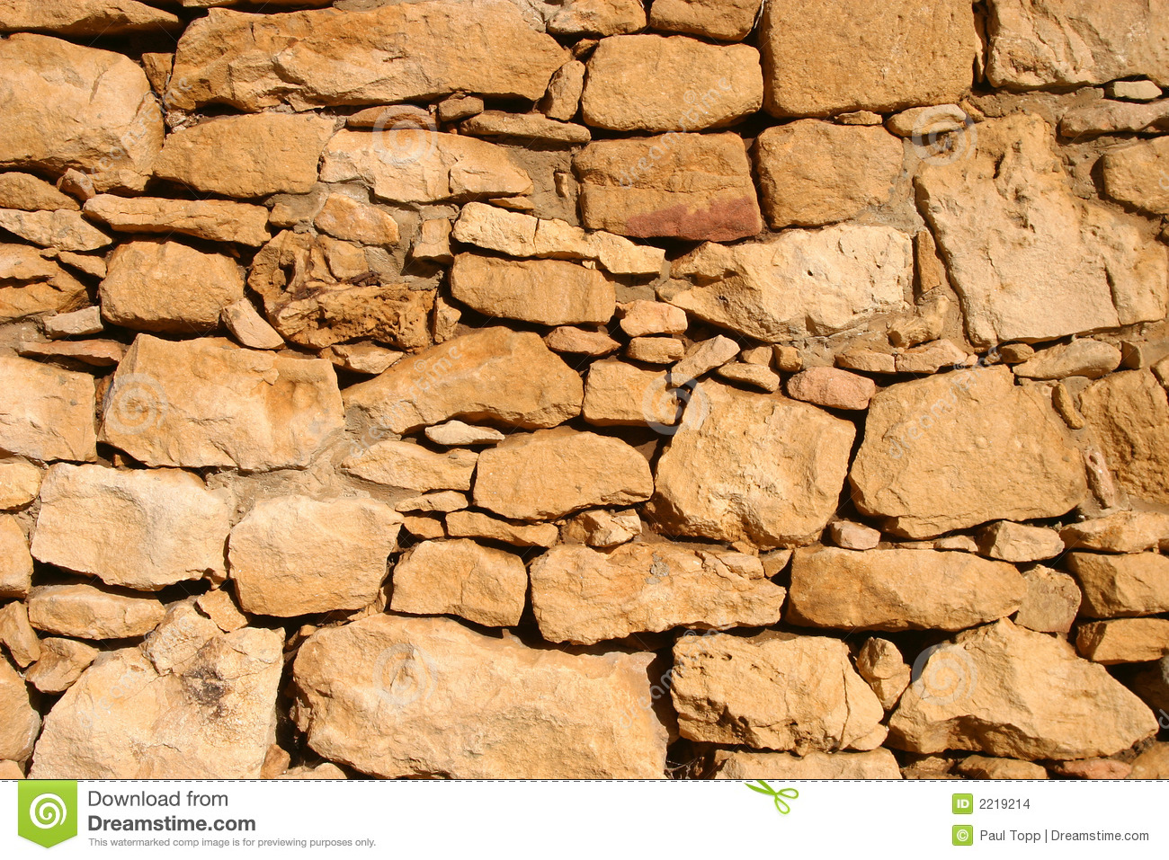 Ancient Rock Wall Background Image Stock Images.