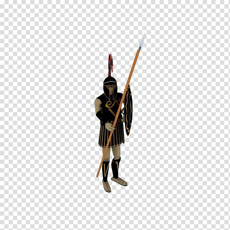 Shield Spear Weapon Ancient history Soldier, Ancient Warrior.