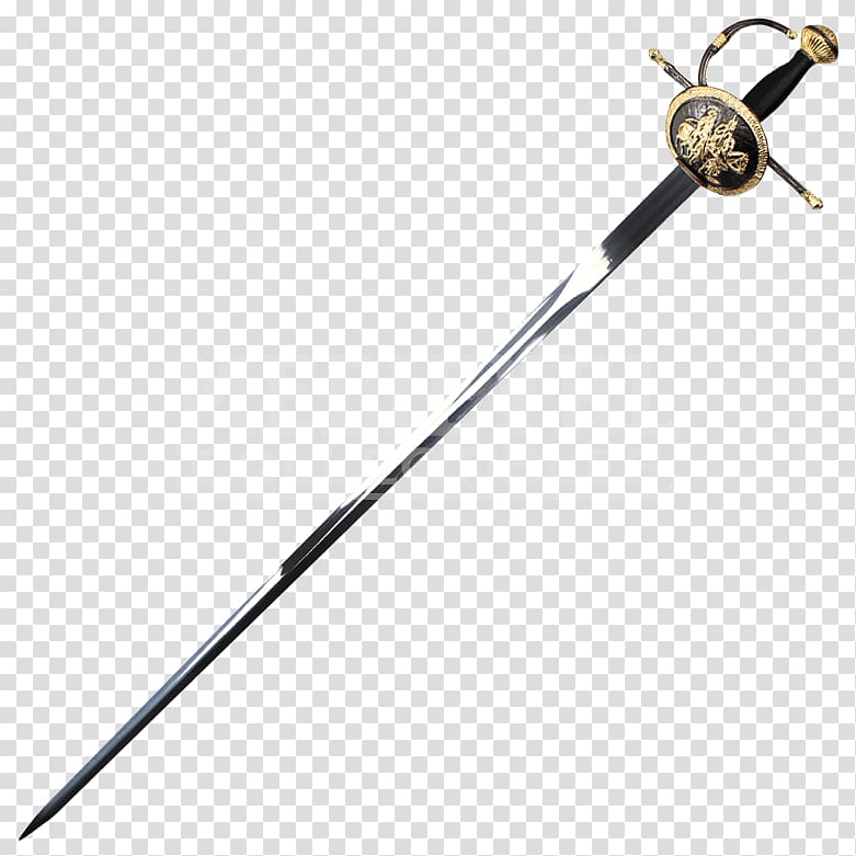 Sword Rapier Musketeer Old Spanish Knight, ancient weapons.