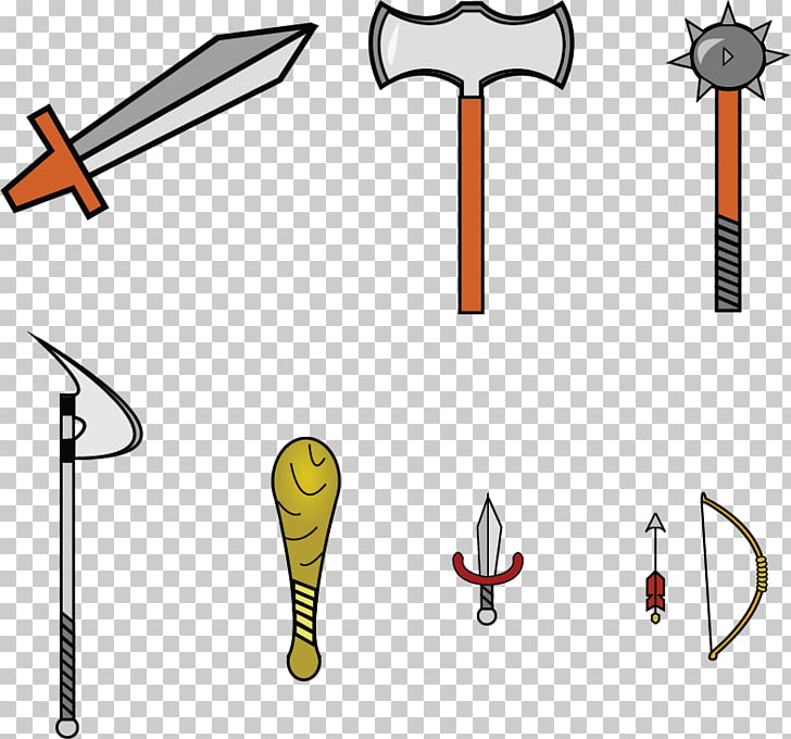 Sword Line Product design Point, ancient weapons PNG clipart.