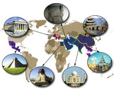 Ancient World History Clipart.