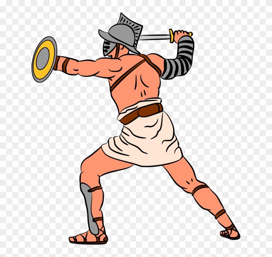 Gladiator Clip Clipart.