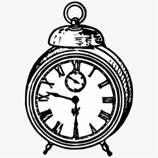 Cinderella Clipart Vintage Clock.