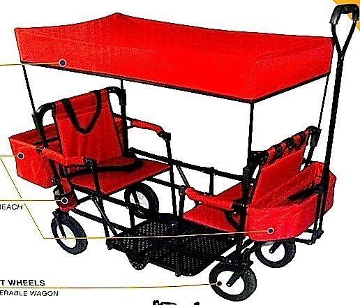 Folding Wagon With Seats The Wagon