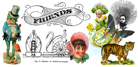 Free Vintage Images and Clip Art for Crafts.