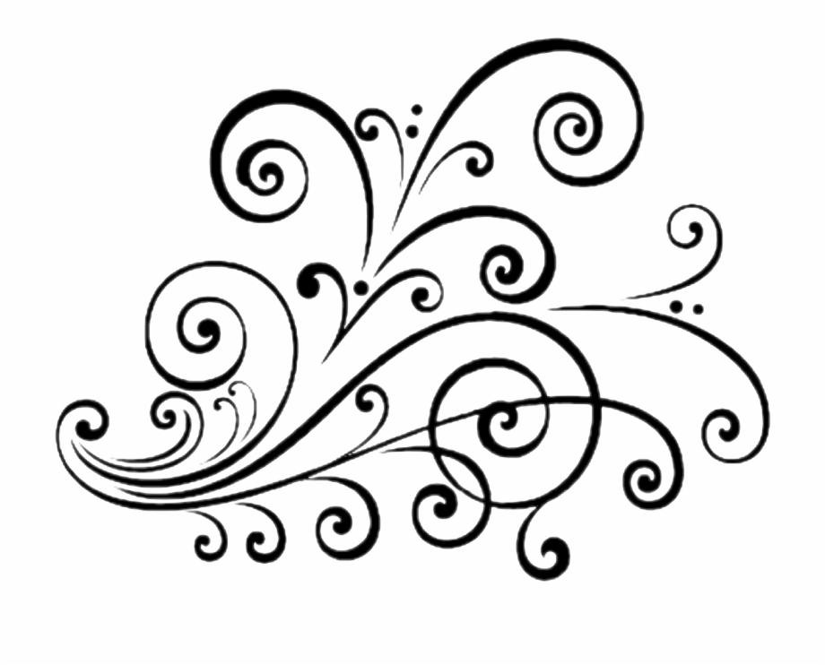 Scroll Design Png Download Fancy Scroll Design Clip.