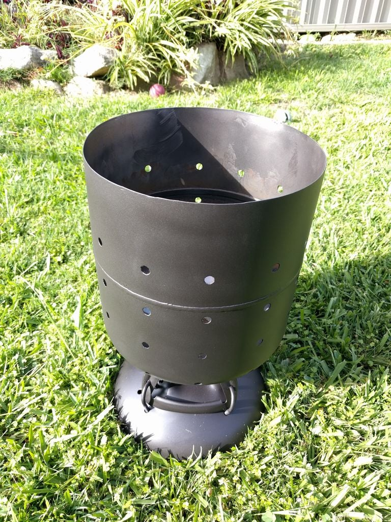 Homemade Firepit From Helium Tank (No Welding!): 8 Steps.