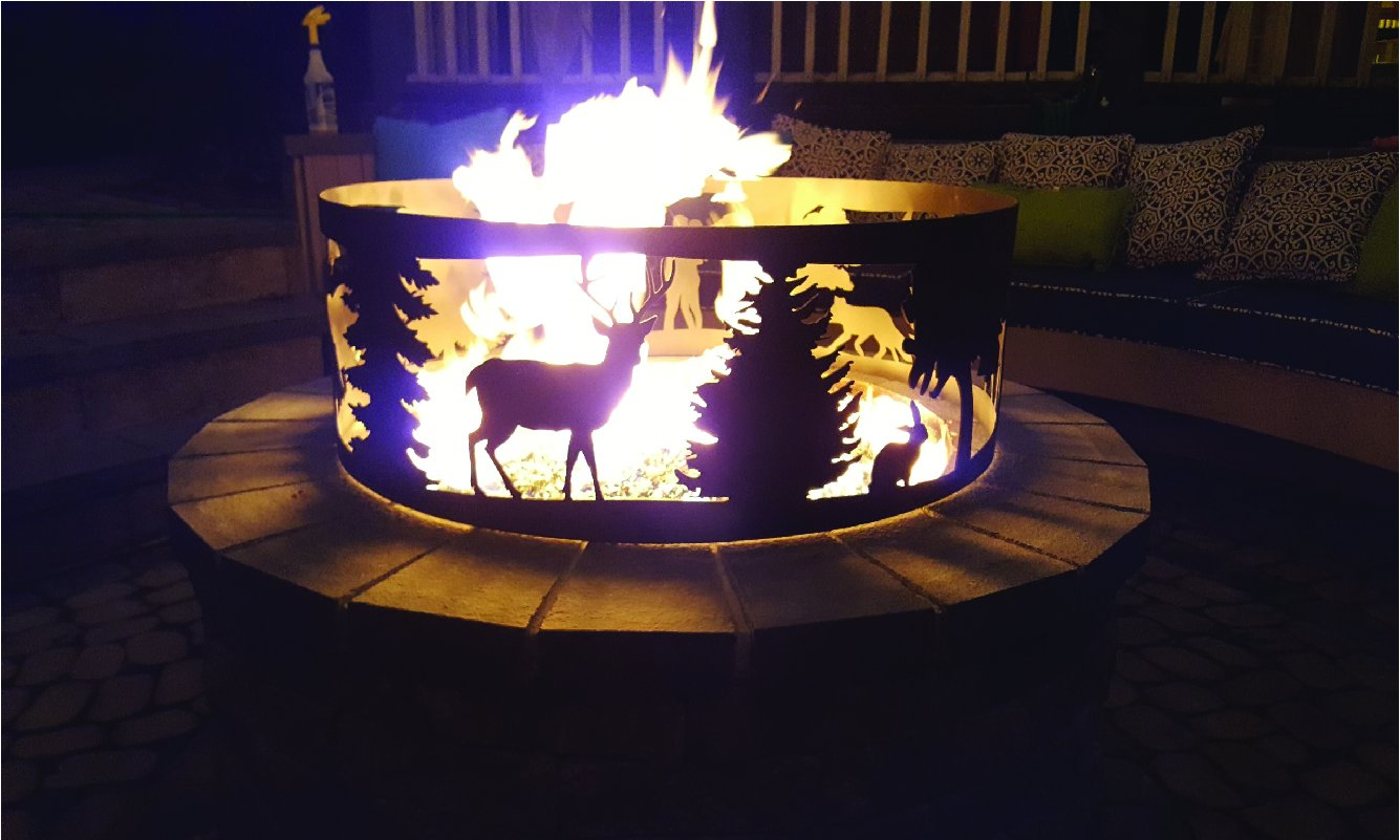 Nature Lovers Fire Pit Ring.